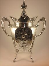 Vintage Silver Plated Wilcox Silver Plate Tea Pot (Initialed)