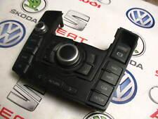AUDI A6 MMI CONTROL PANEL SATNAV RADIO SWITCH BLACK RHD 4F2919611H 4F0910609E /2