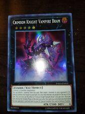 Crimson Knight Vampire Bram *Super Rare* DASA-EN013 NM