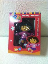 "NCK JR DORA THE EXPLORER ""SKATE WITH DORA"" 2004 ORNAMENT BRAND NEW N BOX"