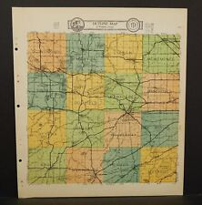Wisconsin Waukesha County Map  1930  Q8#46