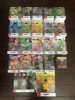 Brand New/Sealed Amiibo Figures | Pick Your Own | Variety to Choose from
