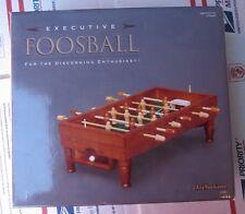 Executive Foosball Mini Table Mint CONDITION Wood