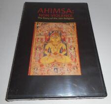 AHIMSA : Non Violence The Story of the Jain Religion Rare Brand New DVD