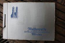 6012 TEEKANNE Sammel Bilder Album Meisterwerke der Gemäldegalerie München 1935