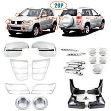 Accessories Chrome Smart Molding Covers Trims For 2006-2008 Suzuki Grand Vitara
