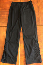 GTM Gymnastics Pants, Warm Up, Yoga, Dance Black Size Ladies Small inseam 31