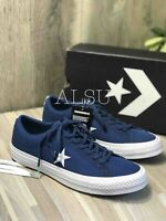 Sneakers Men's Converse One Star Canvas Low Top Navy White Ocean Bliss