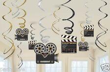 12 film di Hollywood Tema Da Appendere a Vortice Film Festa Decorazione Da Appendere Film Awards