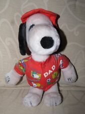 RARE Collectable Vintage Plush Snoopy Figure No 1 Dad  - EXC COND !!