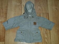 BABY BOY'S LIGHTWEIGHT JACKET SPRING SUMMER REMOVEABLE HOOD AGE 2-4 MONTHS H&M