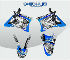 KIT ADESIVI GRAFICA GOODIES YAMAHA YZ 125 250 2008 2009 2010 2011 2012 2013 2014
