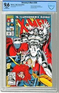 X-Men   #296   CBCS  9.6  NM+   White pgs 1/93  Stryfe cover & App