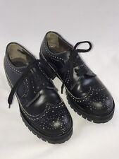 MARNI Black Oxford Platform Shoes