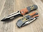 Scorpion Tactical Drop Point Blade Spring assisted pocket Knife 1S