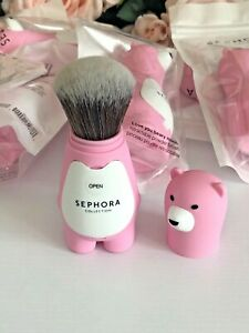 SEPHORA COLLECTION Love You Beary Much Retractable Powder Brush LTD Edition New