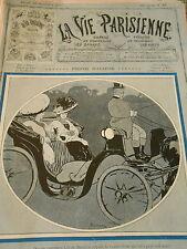Auto Petit Moteur dramatique Lili de Berezina Couverture Print Cover 1907