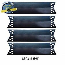 4 Pack Porcelain Steel Heat Shield Kenmore Sears BBQ Replacement Part Gas Grill