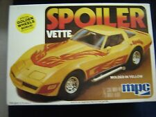 MPC Spoiler Vette Corvette Kit #1-3713 Open But Complete