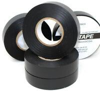 19mm x 33m BLACK ELECTRICAL PVC INSULATION / INSULATING  TAPE FLAME RETARDANT