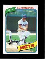 1980 TOPPS #641 ED KRANEPOOL EX METS  *X6414