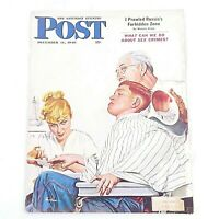 The Saturday Evening Post December 11, 1948 George Hughes Cover Illustration