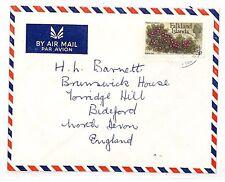 UU423  1970s Falklands Islands Commercial Airmail North Devon {samwells-covers}