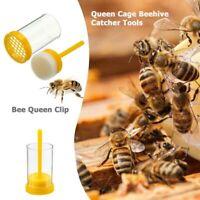 Bee Queen Catcher One Handed Marker Bottle Marking Cage Plunger Beekeeper DP/