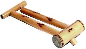 Fair Trade Bamboo Double Slide Whistle Flute Peluit Indonesian Balinese Bali