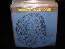 "ROBERTA FLACK oasis ( r&b ) 7""/45 picture sleeve PROMO"