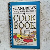 Raleigh NC St Andrews Presbyterian Church Cookbook Spiral Community 1993 Vintage