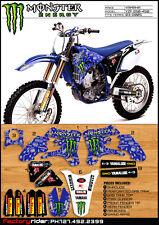 Yamaha YZF 250-450 2003 2004 2005 TEAM ISSUE Dirt Bike Graphics VERY RARE !!!