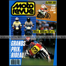 MOTO REVUE N°2816 HONDA VFR 750 F CBR 1000 YAMAHA YZ 490 1988