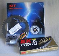 YAMAHA YZF R1 1998 > 2003 PBR / EK CHAIN & SPROCKETS KIT 520 RACE PITCH X-RING