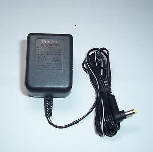 uniden ad-800 cordless phone 9 volt power cord tru9460 tru9465 tru9480 tru9485