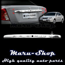 Chrome Trunk Lid Handle Cover Trim for 02~08 Chevrolet Lacetti/Nubira/Optra 4DR