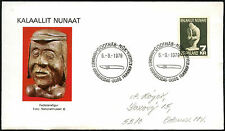 Greenland 1979 Folk Art FDC First Day Cover #C41434