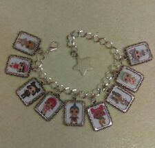 Silver Charm Bracelet LOL L.O.L Surprise Doll Confetti Pop Unicorn Punk Boi