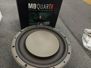 """BRAND NEW OLD SCHOOL 10"""" MB QUART PWE254 MADE IN USA BY ROCKFORD FOSGATE"""