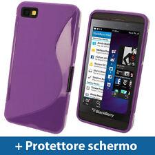 Custodie preformate/Copertine viola per BlackBerry Z10
