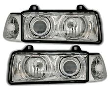 2 FEUX PHARE AVANT ANGEL EYES BMW SERIE 3 E36 BERLINE 318 325 TDS 320i 325i 328i