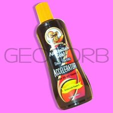 AUSTRALIAN GOLD ACCELERATOR NO TINGLE MFG's DONT SEAL TANNING BED LOTION WE DO
