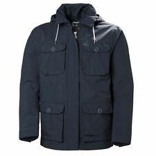Helly Hansen Uomo Kobe Field Jacket Cappotto con Cappuccio Navy 64036 994