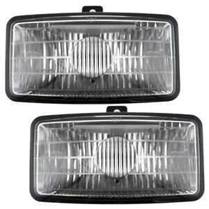 Fog Lights Set fits 99-03 Chevrolet S10 Xtreme Pickup Truck 01-05 Blazer Xtreme
