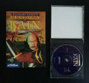 Blood omen : Legacy Of Kain PC 1997 notice + carte