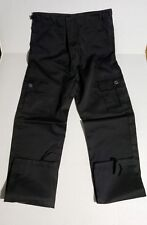 Boy's Black Military/ Tactical Pants Size 18/ New