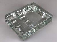 60er 70er Jahre Schale Utensilio Glasschale Glas Space Age Design 60s 70s