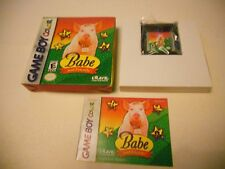 BABE AND FRIENDS GAMEBOY  / Color / Adv/ SP/ Gba Game boy Colour GAME