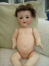 1930S ARMAND MARSEILLE BISQUE HEAD COMPOSITION BODY DOLL