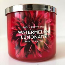 Bath & Body Works ~ WATERMELON LEMONADE ~ 14.5oz 3-Wick Candle *Free Shipping*